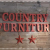 country furnature sign
